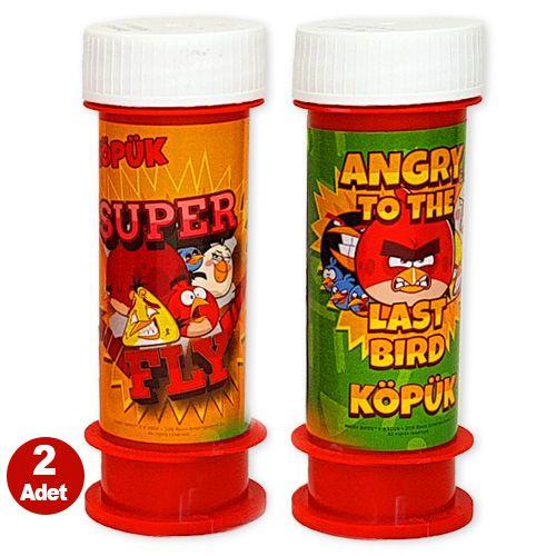 Angry Birds Köpük Baloncuk (2 adet)