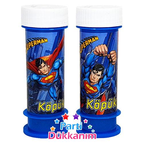 Superman Köpük Baloncuk (2 Adet)