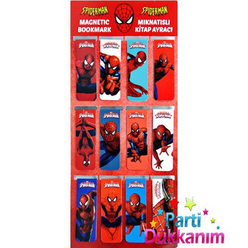 Spiderman Kitap Ayracı (12 Adet)