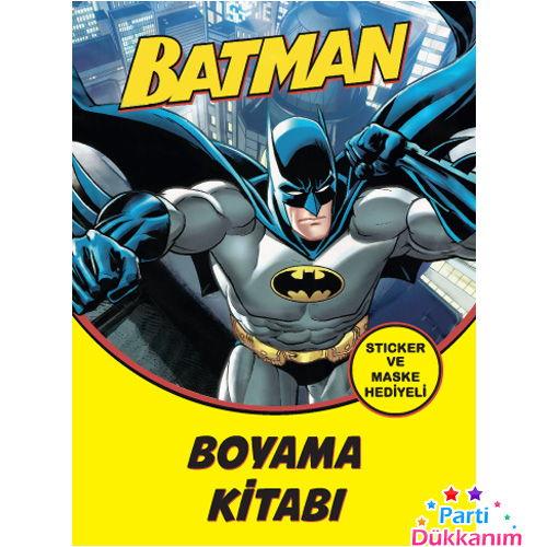 Batman Boyama Kitabi Stickerli 16 Sayfa