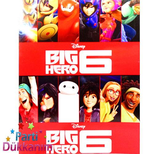 Big Hero Boyama Kitabı Stickerlı (16 Sayfa)