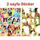 Prensesler Boyama Kitabı Stickerlı (16 Sayfa), fiyatı