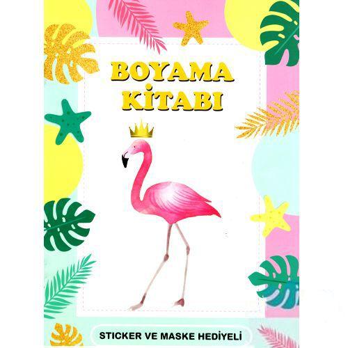 Flamingo Boyama Kitabı Stickerlı (16 Sayfa), fiyatı