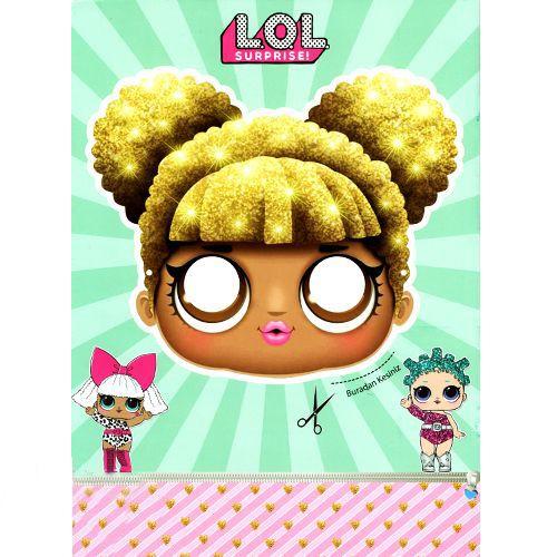 Lol Bebek Boyama Kitabi Stickerli 16 Sayfa Parti Dukkanim