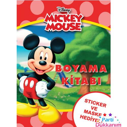 Mickey Mouse Boyama Kitabı Stickerlı (16 Sayfa), fiyatı