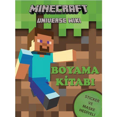 Minecraft Boyama Kitabı Stickerlı 16 Sayfa