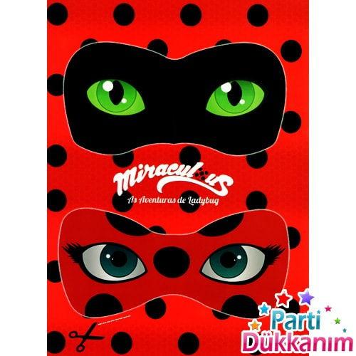 Miraculous Uğur Böceği ve Kara Kedi Boyama Kitabı Stickerlı (16 Sayfa), fiyatı
