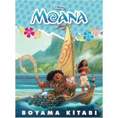 Moana Boyama Kitabı Stickerlı (16 Sayfa)