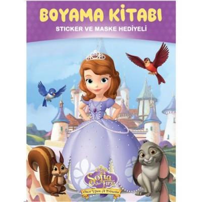 Prenses Sofia Boyama Kitabi Sticker Hediyeli