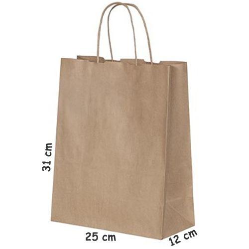 Kraft Kağıt Çanta (25*31 cm)