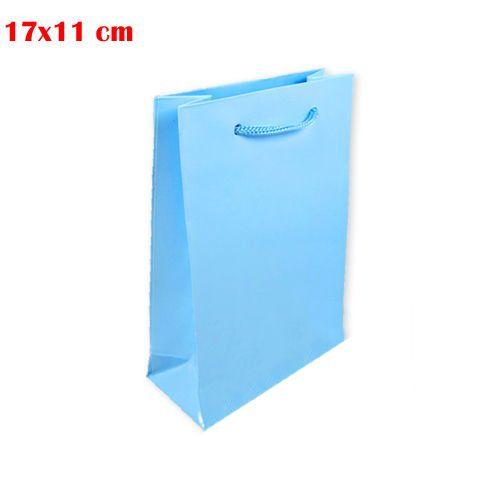 Mavi Karton Çanta (17x11 cm)