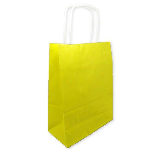 Sarı Kağıt Çanta (18x24 cm)