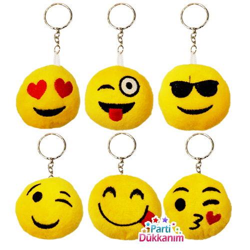 Emoji Anahtarlık 6 Adet, fiyatı