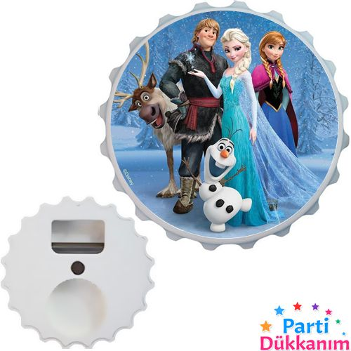 Karlar Ülkesi Prensesi Açacak Magnet 7cm, fiyatı