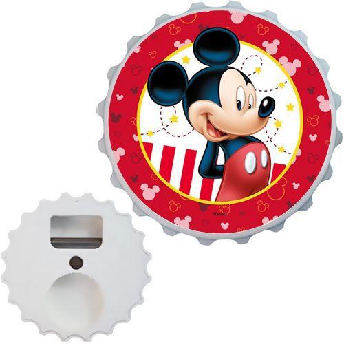 Mickey Mouse Açacak Magnet Kırmızı 7cm, fiyatı
