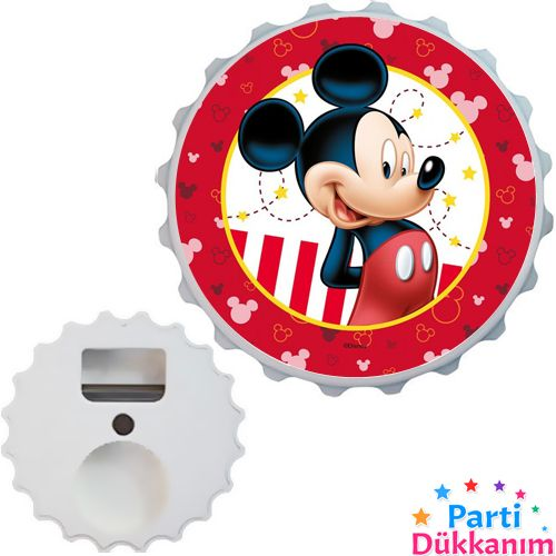 Mickey Mouse Açacak Magnet 7cm