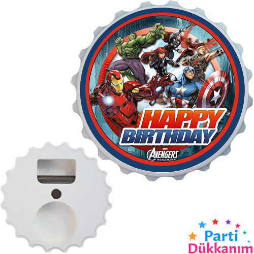 Yenilmezler (Avengers) Açacak Magnet 7cm