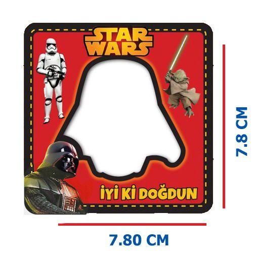 Star Wars Fotoğraf Çerçevesi Magnetli (7,8x7,8cm), fiyatı