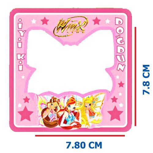 Winx Fotoğraf Çerçevesi Magnetli (7.8x7.8 cm), fiyatı