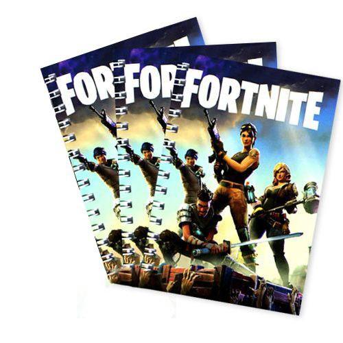 Fortnite Hediyelik Not Defteri 4 Ad (9x13 cm) 50s, fiyatı