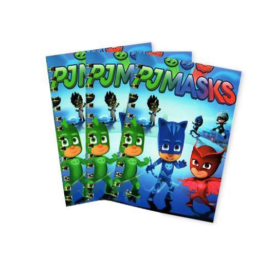 Pijamaskeliler Not Defteri 4 Ad (9x13 cm) 50 s, fiyatı
