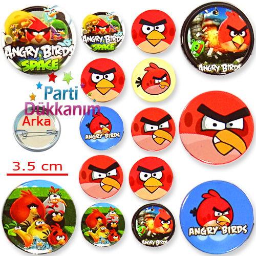Angry Birds Parti Rozeti (10 adet), fiyatı