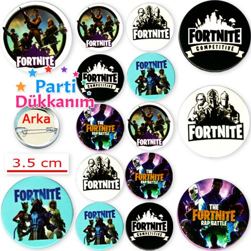 Fortnite Hediyelik Parti Rozeti (10 adet)