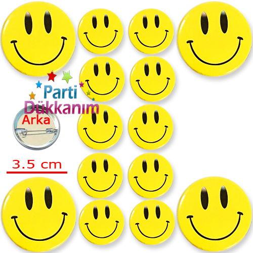 Gülenyüz Parti Rozeti (10 adet)