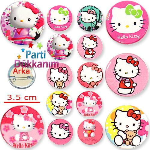 Hello Kitty Parti Rozeti (10 adet)