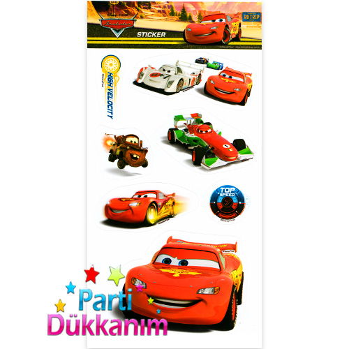 Cars (arabalar) Sticker (11*22 cm)