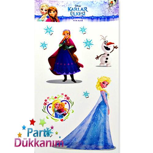 Frozen (Karlar Ülkesi) Sticker (11*19 cm)