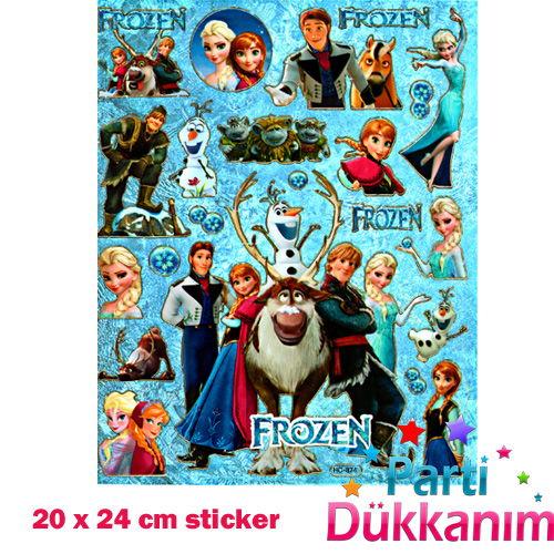 Frozen (Karlar Ülkesi) Sticker 20x24 cm, fiyatı