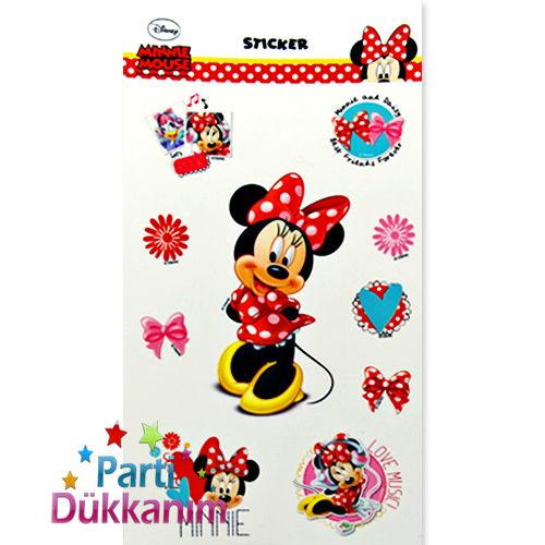 Minnie Mouse Sticker (11*22 cm)