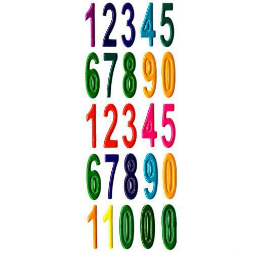 Rakam Sticker (7x17cm)