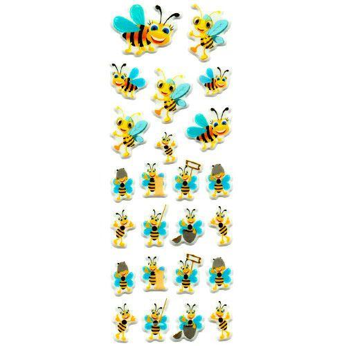 Sevimli Arılar Sticker 7x17 cm, fiyatı