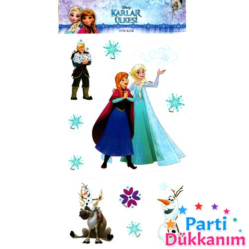 Frozen Sticker (11x19 cm)