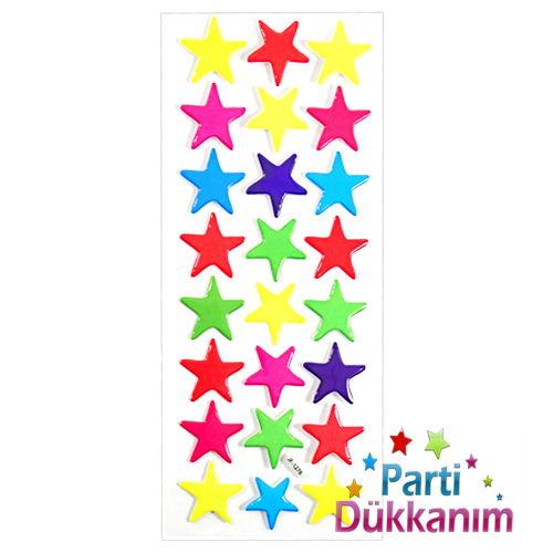 Yıldızlar Sticker 7x17 cm