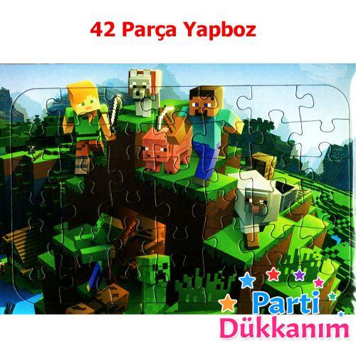 Minecraft Yapboz (31x22cm), fiyatı