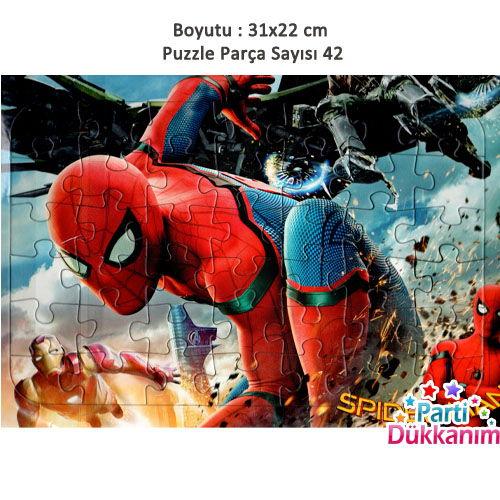 Spiderman Yapboz (31x22cm)