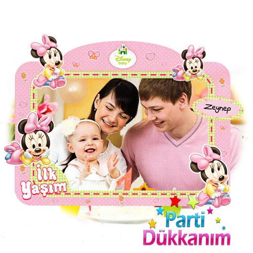 İlk Yaşım Doğum Günü Fotoğraf Hatıra Çerçevesi (60x90 cm), fiyatı