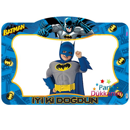 Batman Fotoğraf Çekme Hatıra Çerçevesi (70*100 cm)