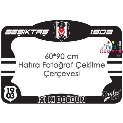 Beşiktaş Fotoğraf Çekme Hatıra Çerçevesi (60x90 cm), fiyatı