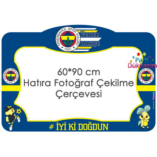 Fenerbahçe Fotoğraf Çekme Hatıra Çerçevesi (60x90 cm)