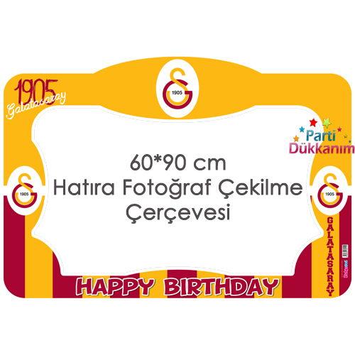 Galatasaray Fotoğraf Çekme Hatıra Çerçevesi (60x90 cm)