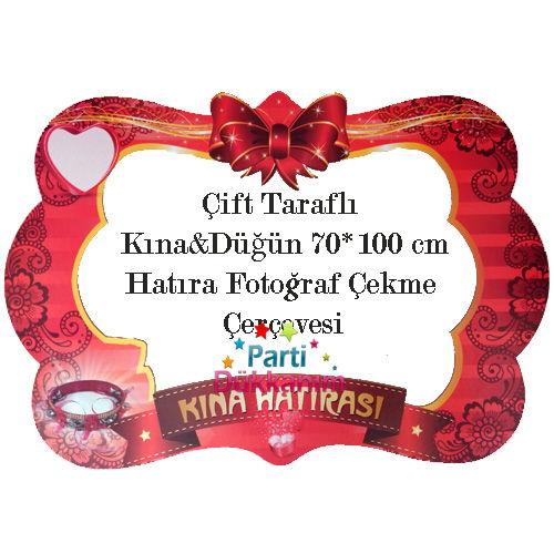 Kına Partisi Hatıra Çerçevesi (70x100 cm)