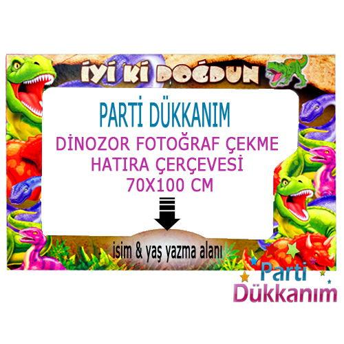 Dinozor Fotoğraf Çekme Hatıra Çerçevesi (70*100 cm), fiyatı