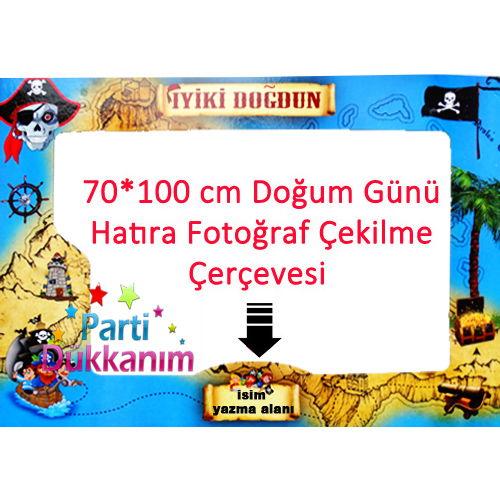 Korsan Fotoğraf Çekme Hatıra Çerçevesi (70*100 cm), fiyatı
