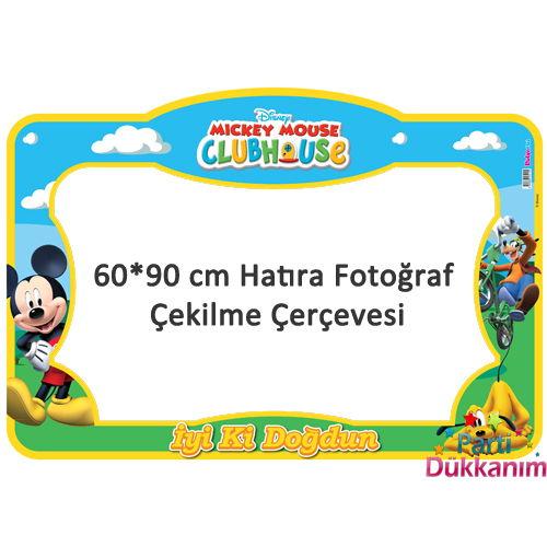 Mickey Mouse Doğum Günü Hatıra Çerçevesi (60*90 cm), fiyatı