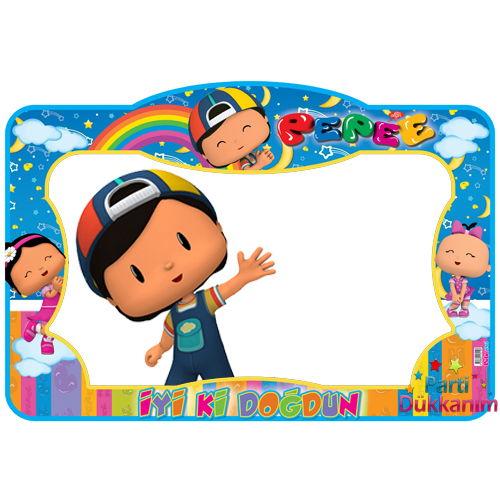 Pepee Doğum Günü Hatıra Fotoğraf Çekilme Çerçevesi (60*90 cm)