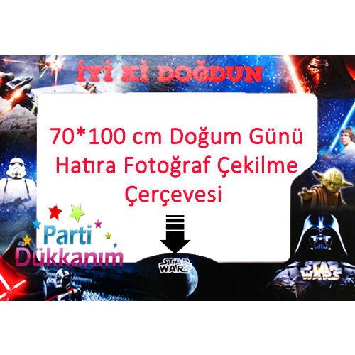 Star Wars Fotoğraf Çekme Hatıra Çerçevesi (70*100 cm), fiyatı